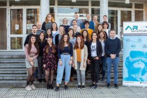Estudiantes de Béglica, Portugal y España